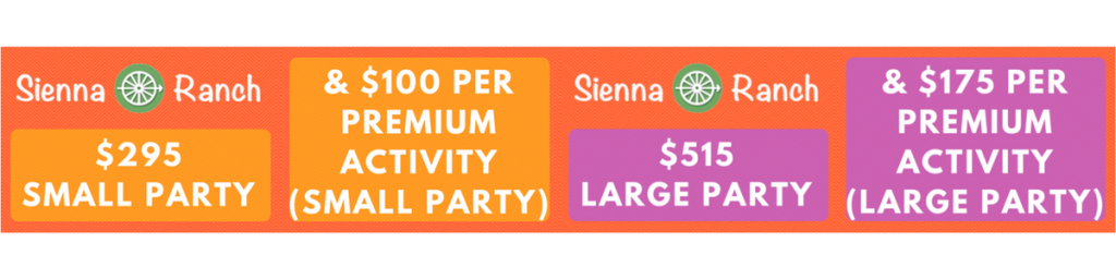 Party Pricing