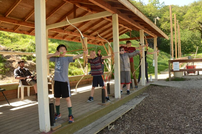 Target Practice at the Archery Range