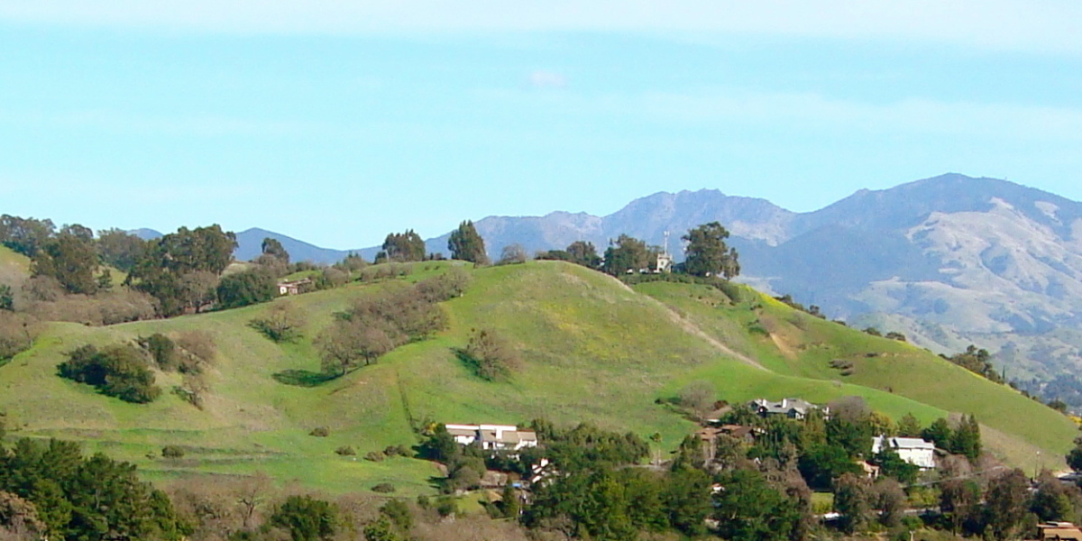 View of Mount Diablo